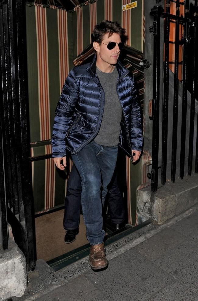 Tom Cruise le 19 septembre 2012 à Londres