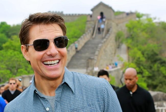 Tom Cruise, Chine, 9 mai 2013