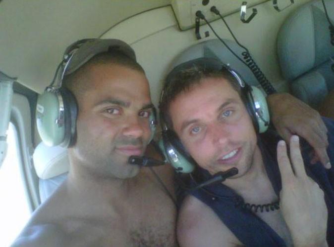 Tony Parker vacances en Corse, le 8 juillet 2011.