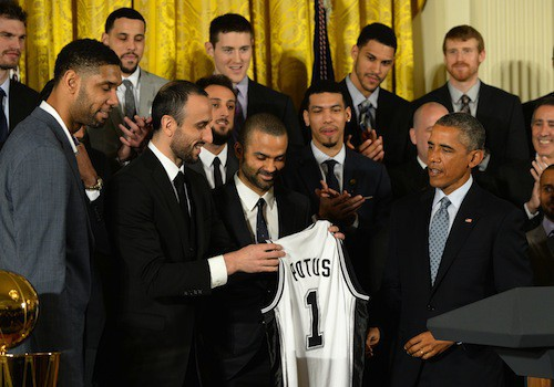 Photos : Tony Parker et Barack Obama : la rencontre au sommet !