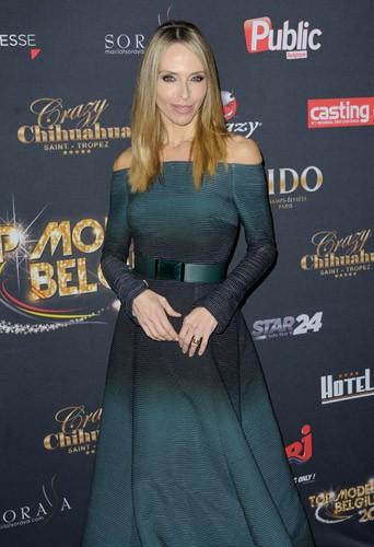 Tonya Kinzinger lors du concours Top Model Belgium à Paris, le 23 novembre 2014