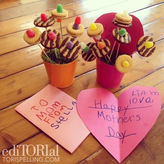 La fête des mères de Tori Spelling