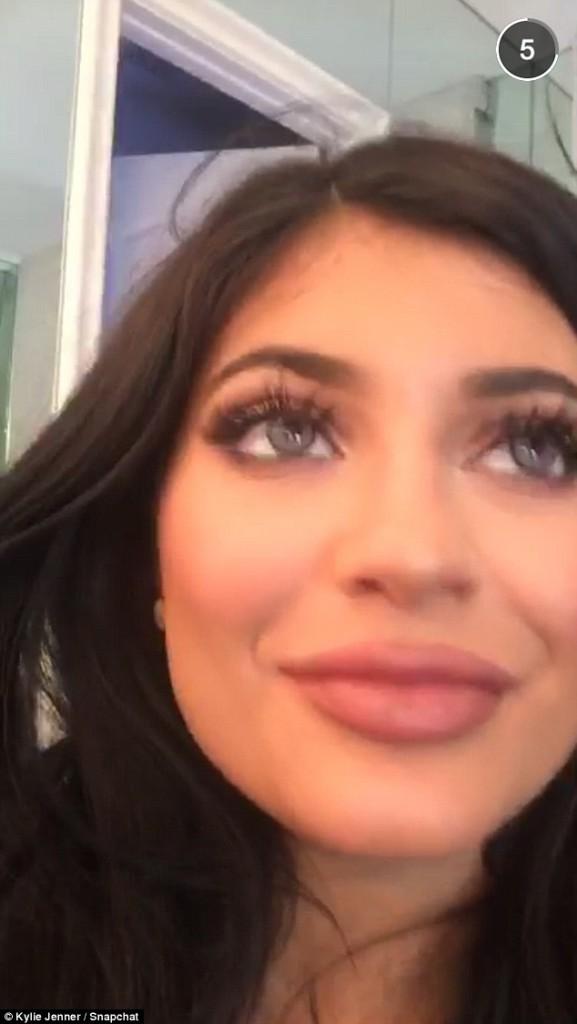 Kylie Jenner le 25 août 2015