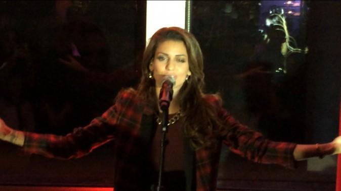 Tal lors de la tournée Pop Love Chérie fm à Paris, le 29 janvier 2013.