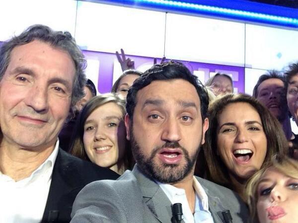 Avec Cyril et son équipe, c'est touche pas à mon selfe.