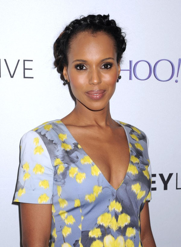 "Kerry Washington à la soirée ""Scandal"" organisée le 14 mai 2015 à New-York"