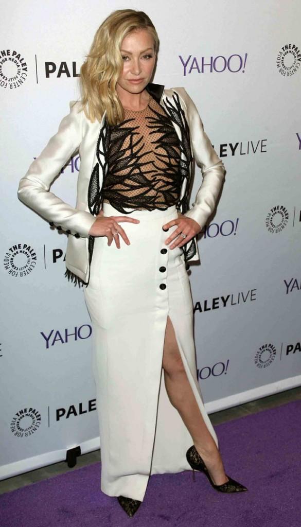 """Portia de Rossi à la soirée """"Scandal"""" organisée le 14 mai 2015 à New-York"""