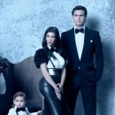 Kourtney, Scott et le petit Mason ...