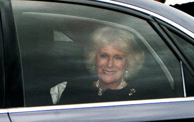 Photos : trop chou, le prince George passe Noël à Buckingham Palace !
