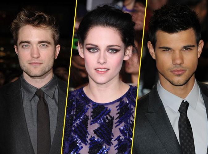 Robert Pattison, Kristen Stewart et Taylor Lautner : un trio surnaturel !