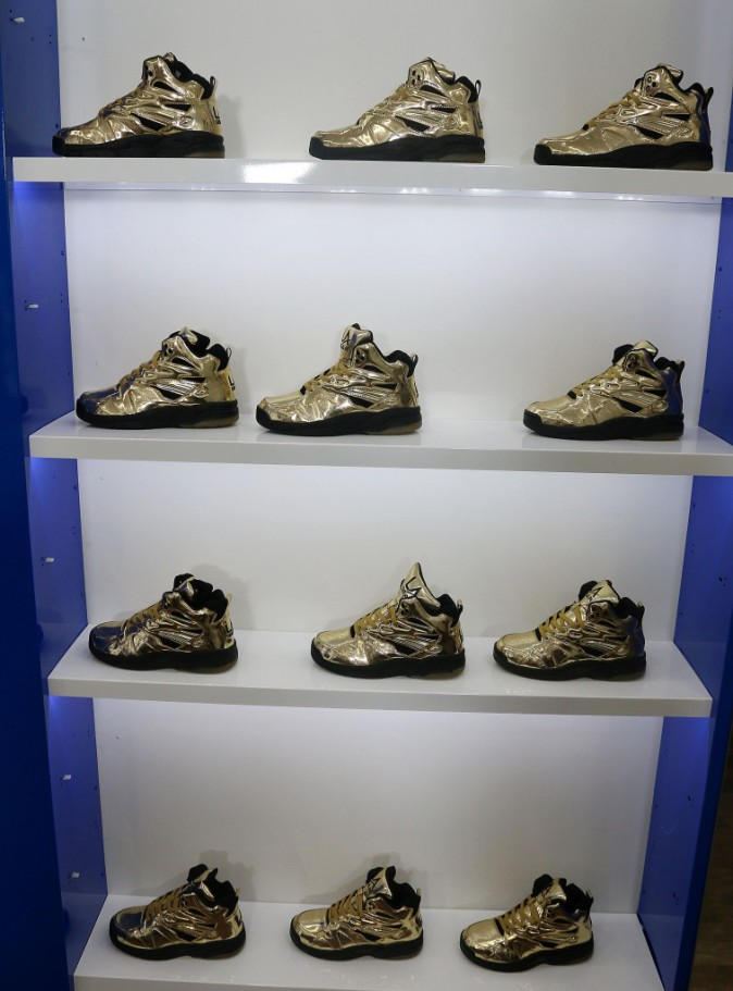 Photos : Tyga : sans Kylie, il dévoile sa nouvelle collection de baskets !