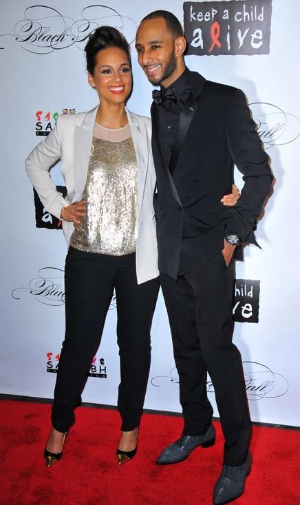 Alicia Keys et son mari, Swizz Beatz