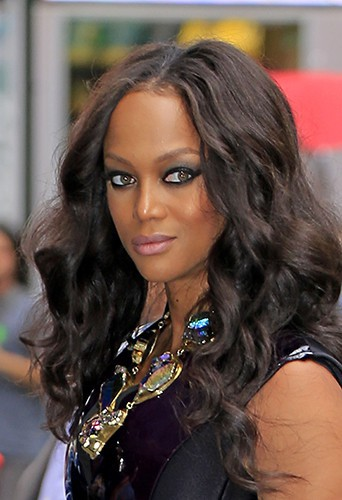 Tyra Banks à New-York le 1er août 2013