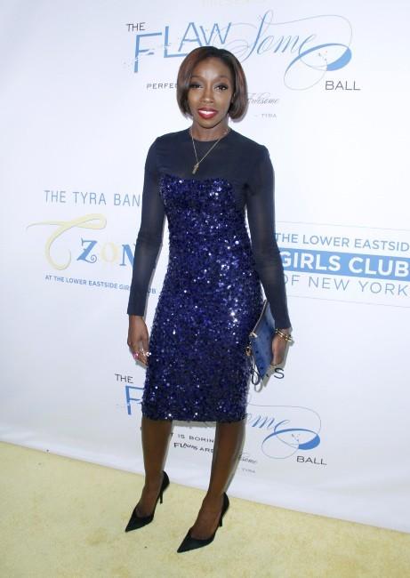 Estelle lors du Flawsome Ball à New York, le 18 octobre 2012.