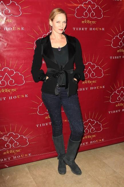 Uma Thurman, New York, 21 février 2012.