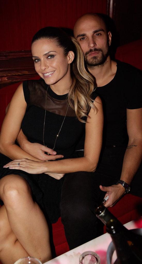 Clara Morgane et et son mari Jey Didarko au Pink Paradise le 14 janvier dernier