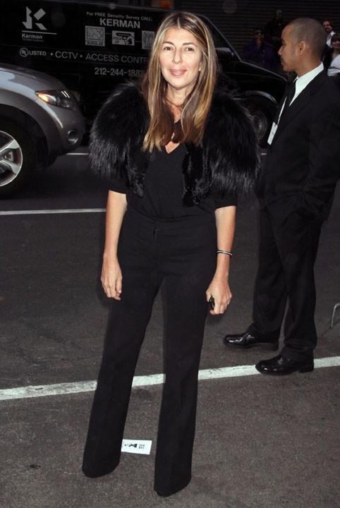 Nina Garcia au défilé Calvin Klein à new York, le 17 février 2011.