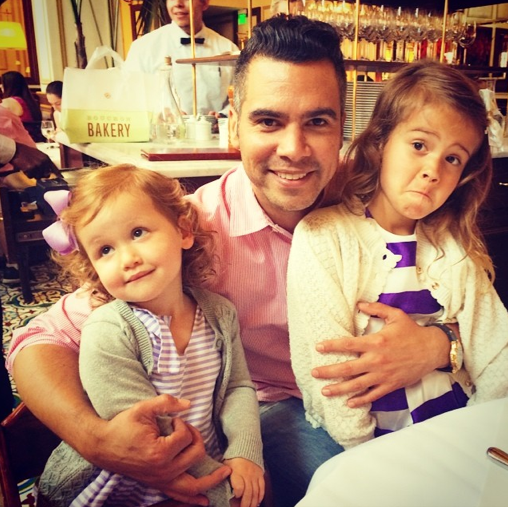 Cash Warren et ses deux filles, Haven et Honor
