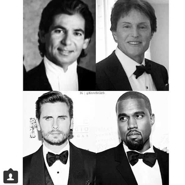 Kris Jenner rend hommage aux papas de son clan !