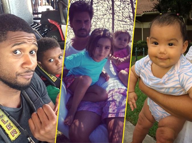 Photos : Usher, Kourtney Kardashian, Booba... : les stars célèbrent la fête des pères sur Instagram !