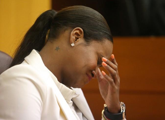Tameka Foster au tribunal d'Atlanta le 9 août 2013