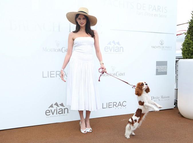 Frédérique Bel à Paris le 29 juin 2014