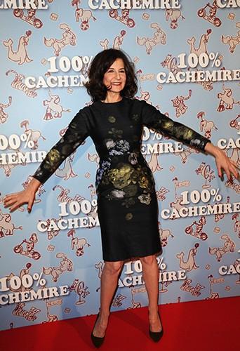 Valérie Lemercier à Paris le 9 décembre 2013