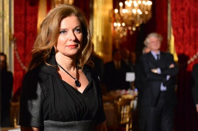 Valérie Trierweiler à l'Elysée, à Paris, le 11 décembre 2012