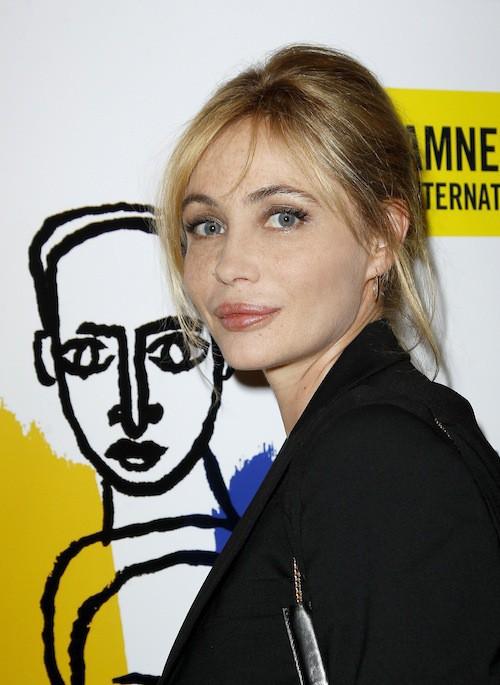 Emmanuelle Béart, aussi présente pour soutenir Amnesty Internatinal