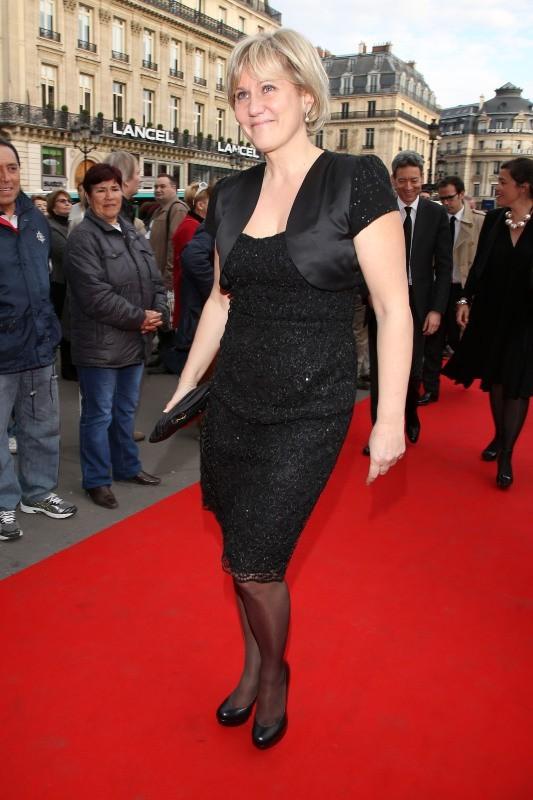 Nadine Morano au gala de l'Opéra Garnier, le 15 avril 2013 à Paris