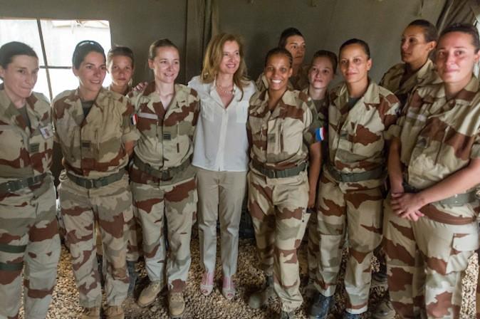Valérie Trierweiler en voyage officiel sans François Hollande !