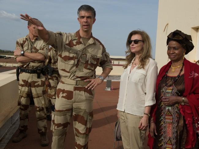 Valérie Trierweiler au Mali, le 16 mai 2013