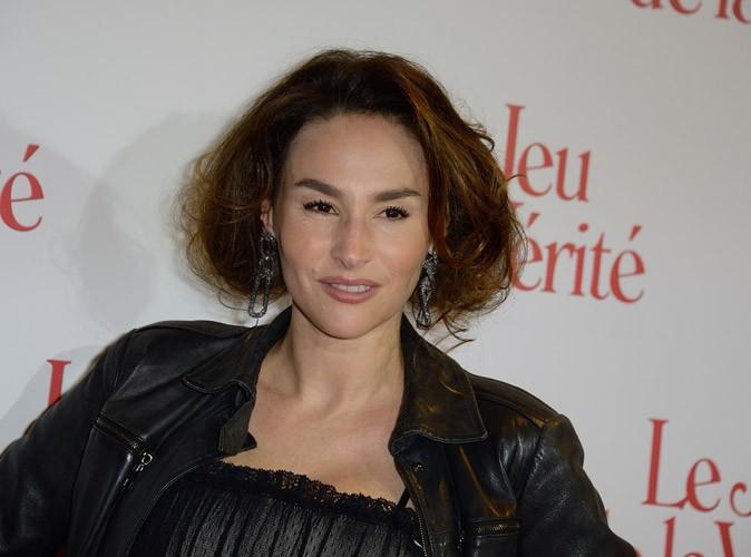 Photos : Vanessa Demouy : jolie brune aux cheveux courts pour la première du Jeu de la vérité !