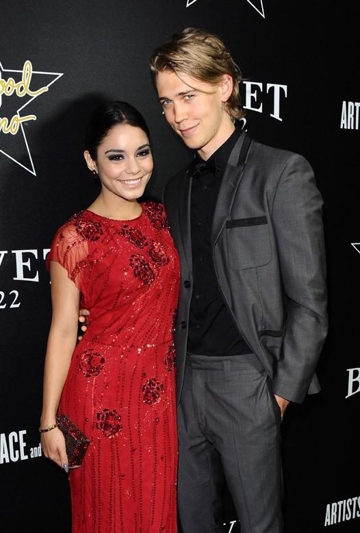 Vanessa Hudgens et Austin Bulter à une soirée pre-Oscars organisée à Hollywood le 27 février 2014