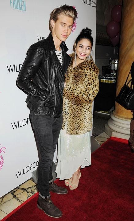 Vanessa Hudgens avec Austin Butler au défilé Wildfox à New-York le 6 février 2013