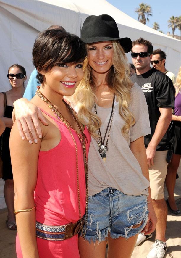 Avec Marissa Miller, ancien ange Victoria's Secret !