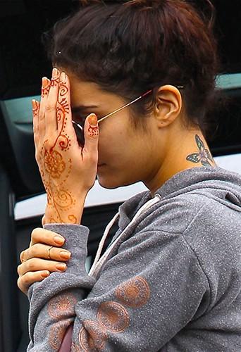 Vanessa Hudgens à Los Angeles le 16 novembre 2013
