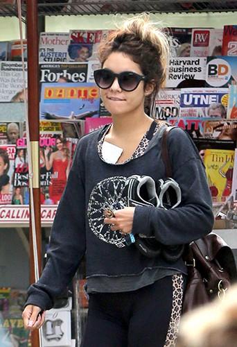 Vanessa Hudgens à Studio City le 27 août 2013
