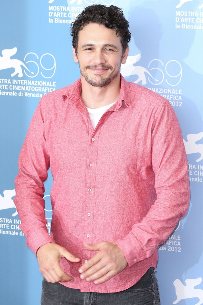 James Franco le 5 septembre à Venise