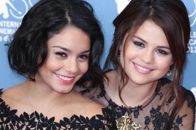 Vanessa Hudgens et Selena Gomez le 5 septembre 2012 à Venise
