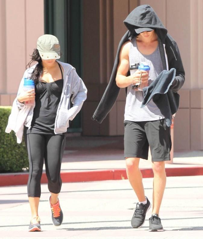 Vanessa Hudgens et Austin Butler sortent de la gym
