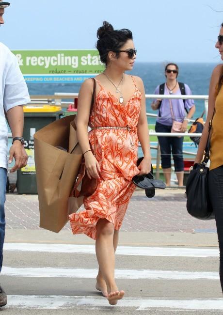 Vanessa Hudgens à Bondi Beach à Sydney, le 18 janvier 2012.