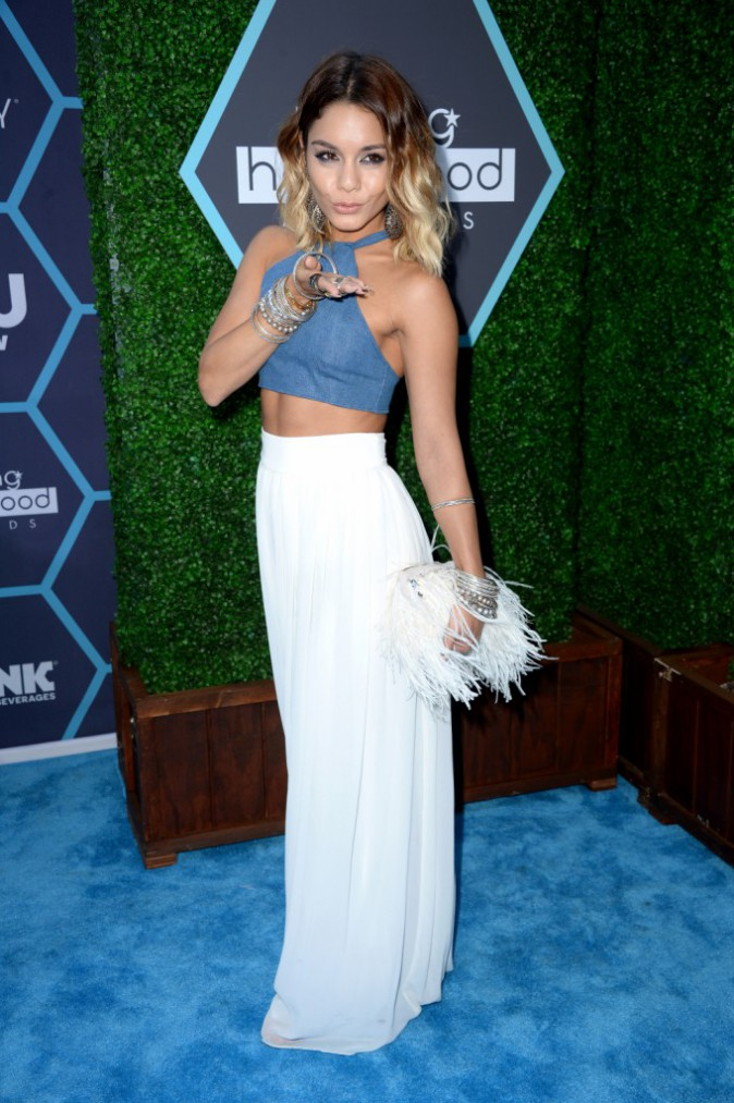 Vanessa Hudgens aux Young Hollywood Awards organisés à Los Angeles le 27 juillet 2014