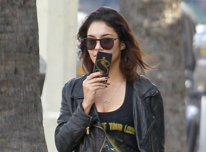 Vanessa Hudgens à Los Angeles le 31 janvier 2014