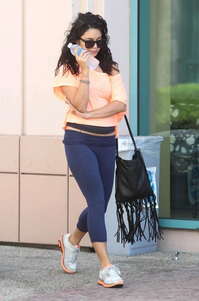 Vanessa Hudgens le 20 août 2012 à Studio City