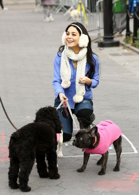 Vanessa Hudgens, New York, 12 décembre 2012.