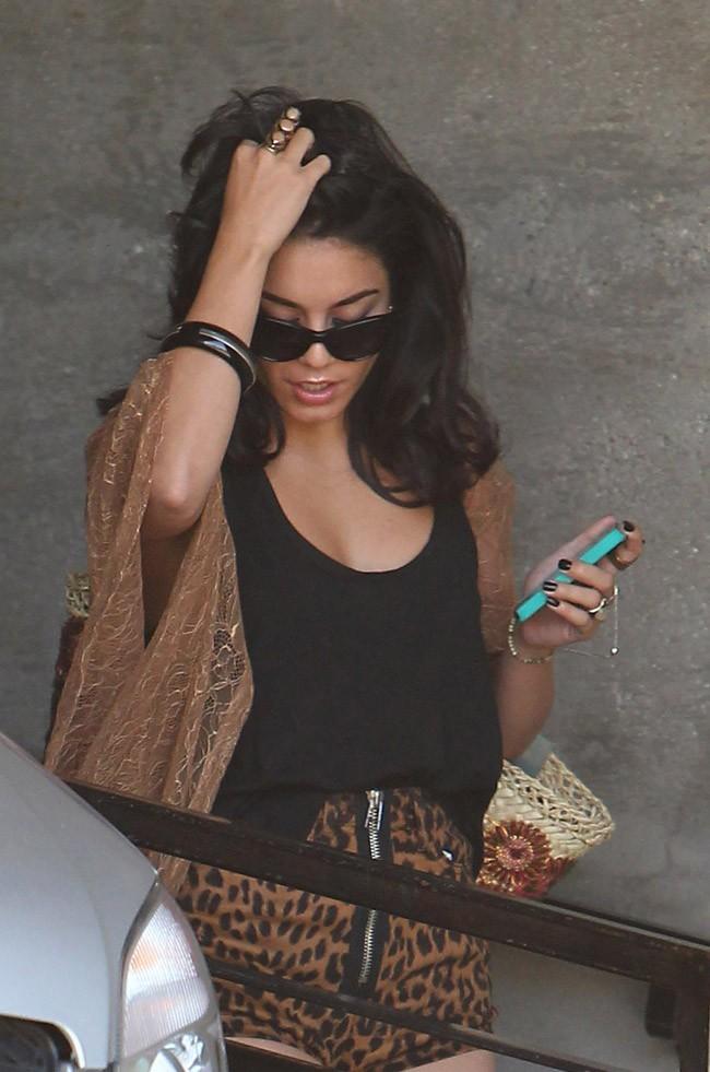 Vanessa Hudgens le 1er août 2012 à Los Angeles