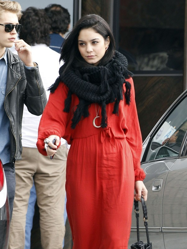 Vanessa Hudgens à Hollywood, le 30 décembre 2012.