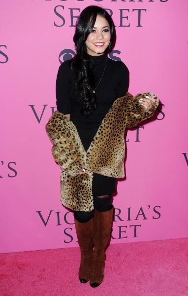 Vanessa Hudgens lors du photocall du défilé Victoria's Secret à New York, le 7 novembre 2012.