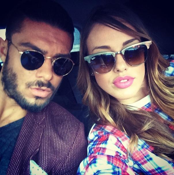 """Photos : Vanessa Lawrens et Julien Guirado (Les Anges) : les """"Beckham"""" de la télé-réalité posent pour une marque de cosmétiques !"""